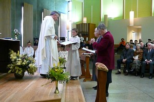 Val McTavish and Cecilia Healion being consecrated September 2007