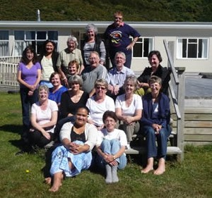 A recent retreat group