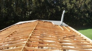 Roof missing